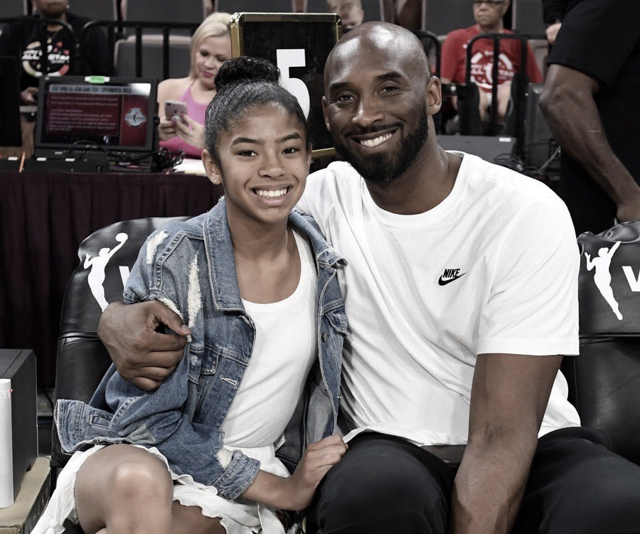 Kobe's daughter Gianna Maria was also on board the helicopter