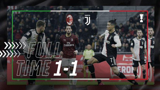Il calcio non è la boxe e si vede: a San Siro meritava il Milan, ma è 1-1