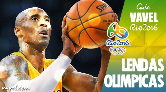 Lendas Olímpicas: Kobe Bryant, um dos maiores jogadores da história do basquete