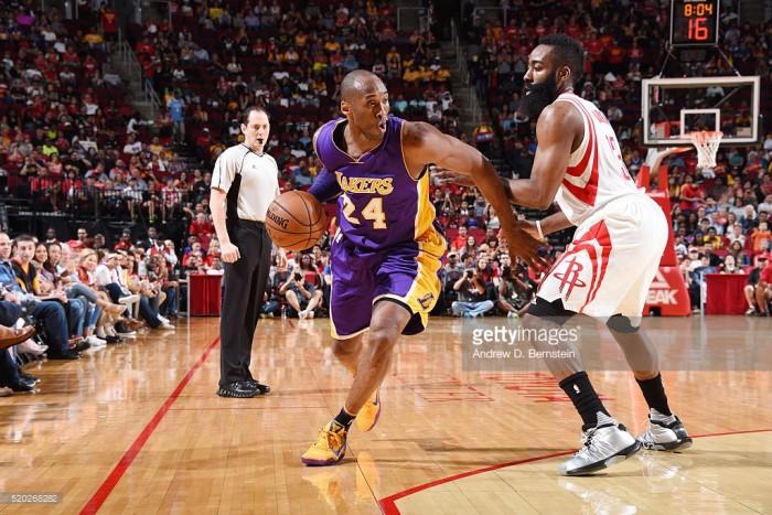 NBA, Kobe leggendario ma vince Harden. Charlotte cede a Washington