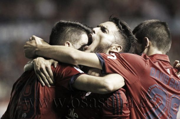 Osasuna - Tenerife: puntuaciones Osasuna, jornada 9