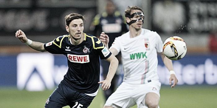 FC Augsburg 0-0 1. FC Köln: Hosts miss chance to seal safety against 10-man Köln