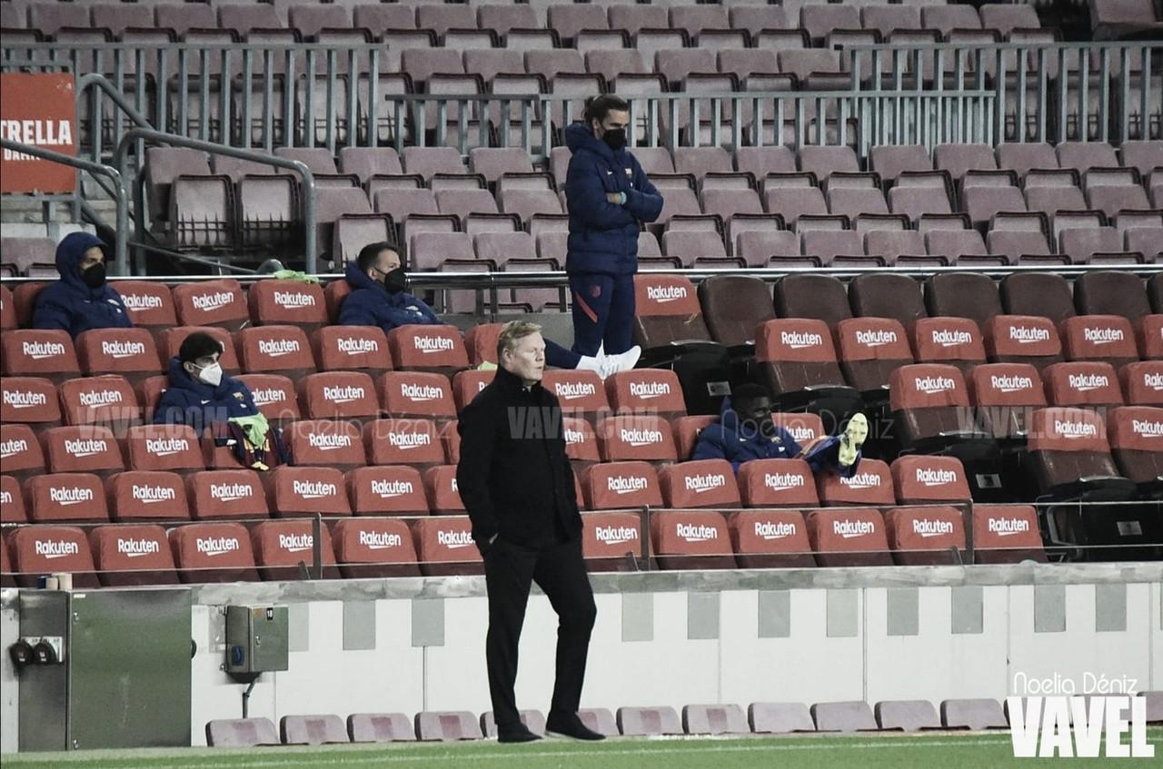 "Koeman: ""Hay Liga hasta la última jornada"""
