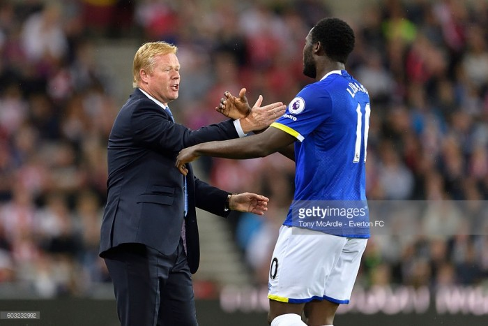 Ronald Koeman says Romelu Lukaku will need to leave Everton to fulfil his potential
