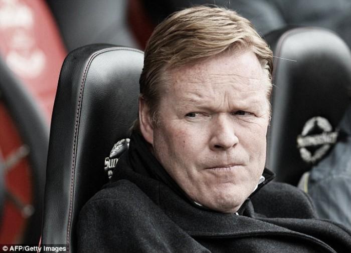 """Koeman says Saints """"must win"""" at Stoke"""