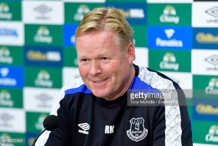 Ronald Koeman looking forward to facing pal Pep Guardiola