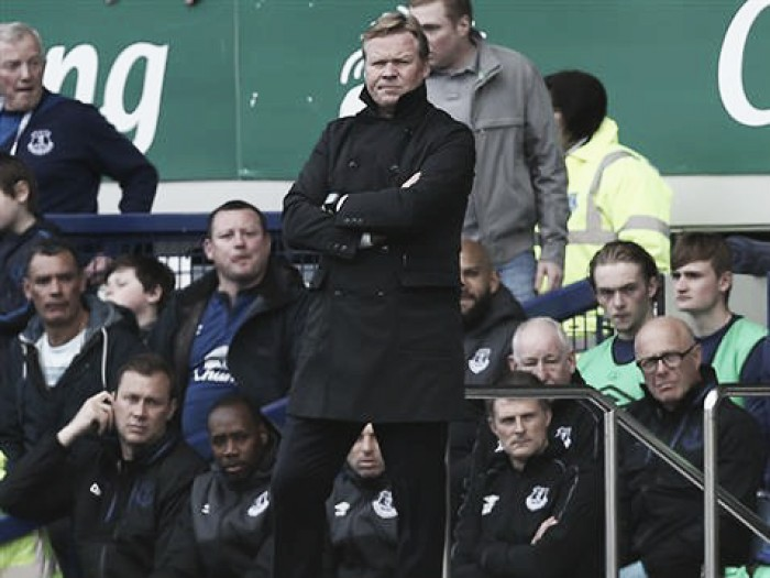 Everton assumed to be in talks with Southampton boss Ronald Koeman
