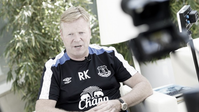 Ronald Koeman says Everton rebuild will be a collaborative effort from the club and fans