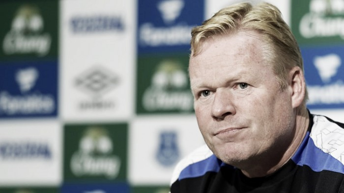 Ronald Koeman looking forward to a tough Stoke City test