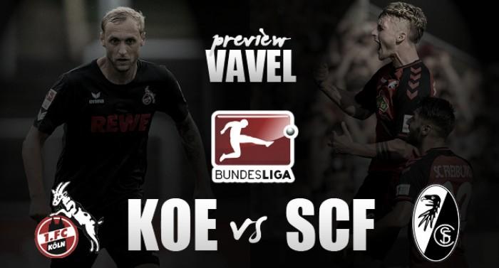 1. FC Köln vs SC Freiburg Preview: Billy Goats look to gatecrash top spot