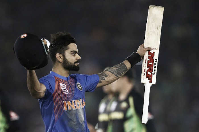 World T20: Kohli magic helps Indians overturn Australia in virtual quarter-final