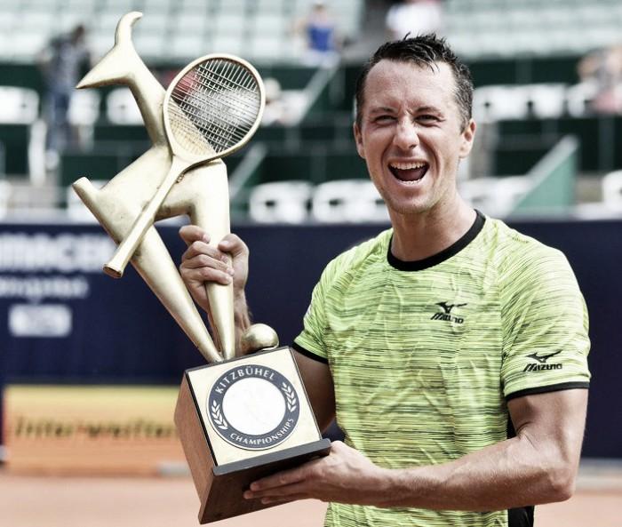 Kohlschreiber se proclama campeón en Kitzbühel