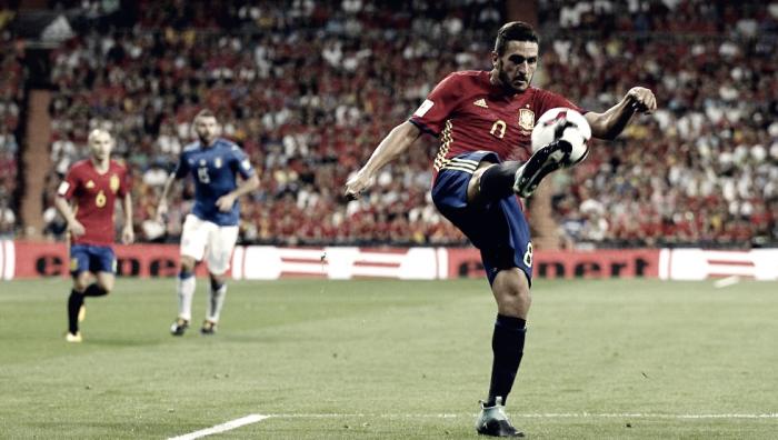 El Atlético, récord de internacionales