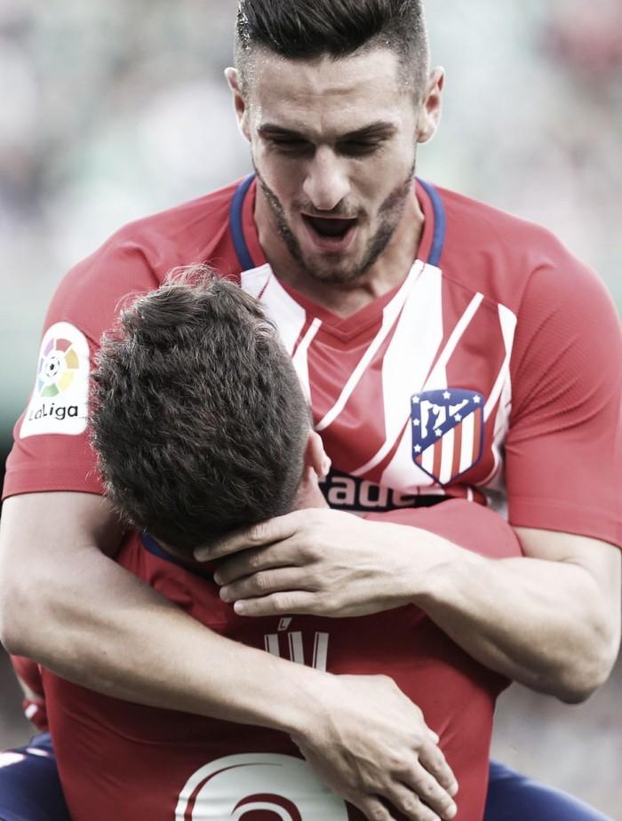"""Koke: """"Hemos aprovechado la oportunidad y hemos marcado el gol"""""""