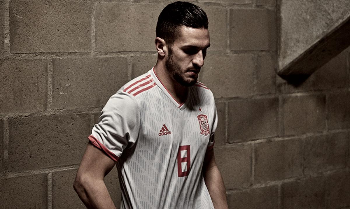La camiseta de La Roja en la historia de los Mundiales