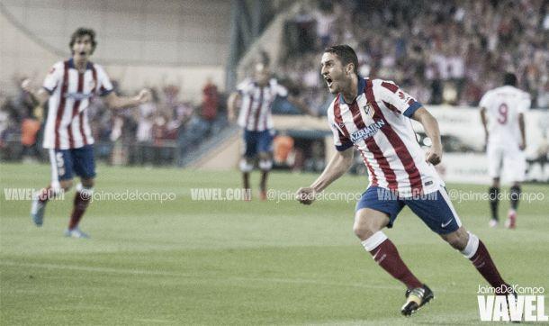 Vuelve el piloto del centro del campo del Atlético de Madrid