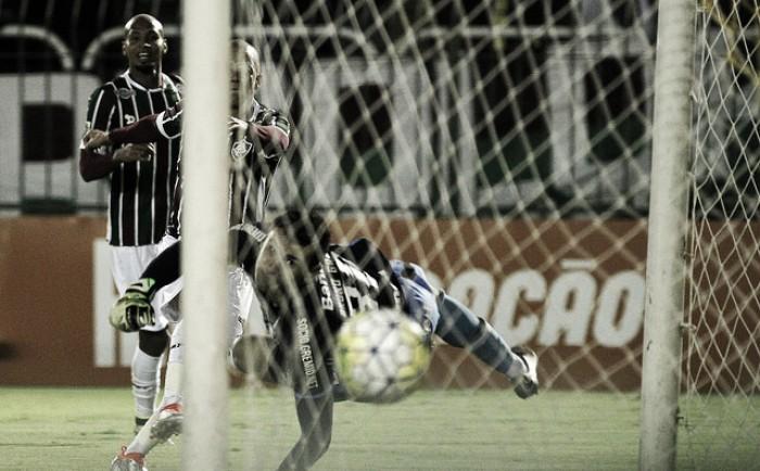 Autor do gol, Marcos Jr  lamenta empate com Grêmio: ''Não podemos nos contentar''