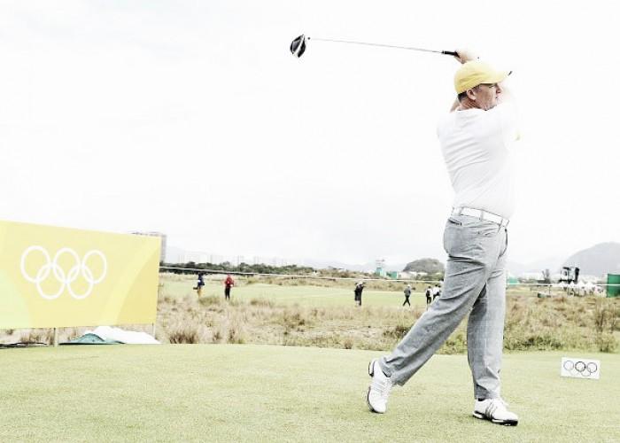 Golfe: Marcus Fraser segue na liderança do torneio e vê belga Marcus Pieters se aproximar