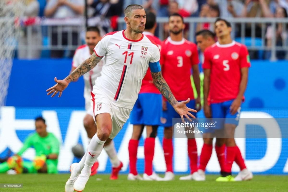Costa Rica 0-1 Serbia: Trademark Aleksandar Kolarov free-kick gives Serbia perfect start