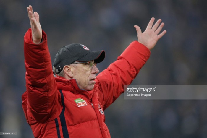 Cologne sacks head coach Peter Stoeger