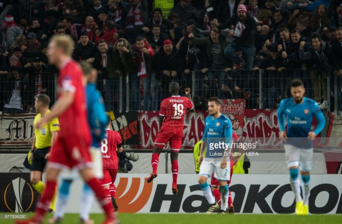 FC Köln 1-0 Arsenal: Gunners top group despite defeat in Germany