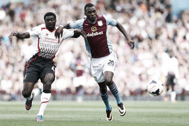 Kolo Toure admits to being 'happier' with Benteke on his side