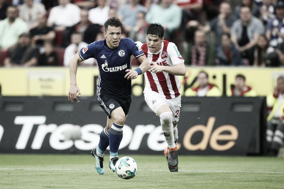 Colônia busca empate diante do Schalke 04 no segundo tempo, mas se aproxima do rebaixamento