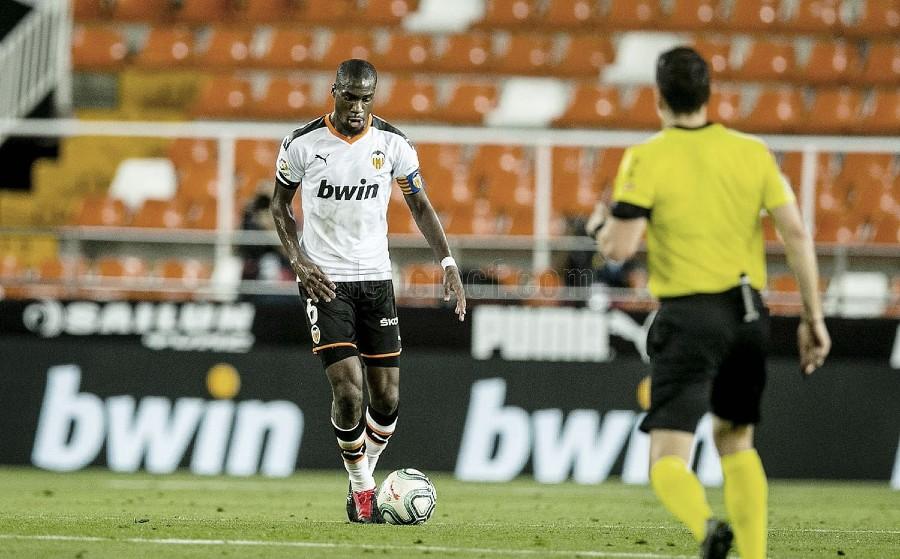 """Kondogbia: """"Creo que tenemos que salir contentos del partido porque siempre jugamos para ganar"""""""