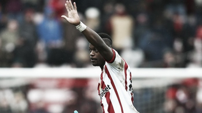 Lamine Kone happy on Wearside