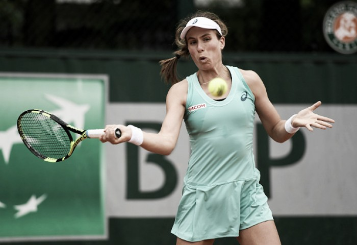 French Open 2016: Johanna Konta crashes out in Opening round at Roland Garros
