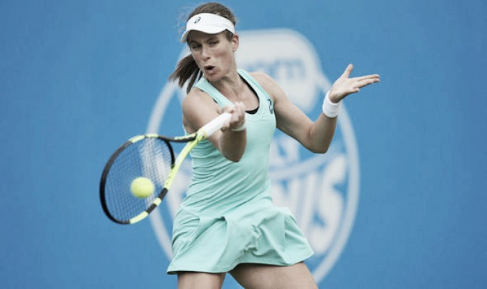 Johanna Konta through to the third round at Eastbourne