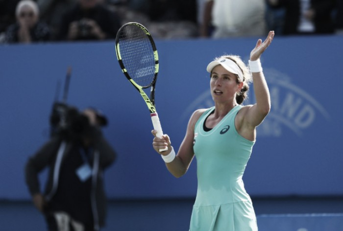 Wozniacki  and Kvitova crash out as Konta moves through to Round 4 of Eastbourne