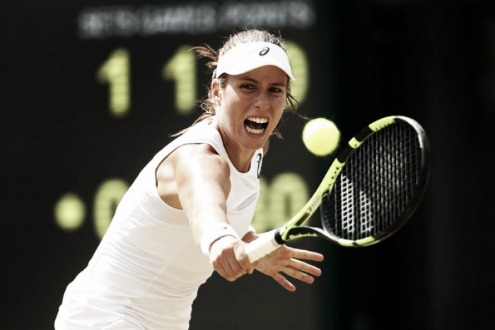 Wimbledon: Johanna Konta becomes first Brit since 1984 to progress onto the quarterfinals