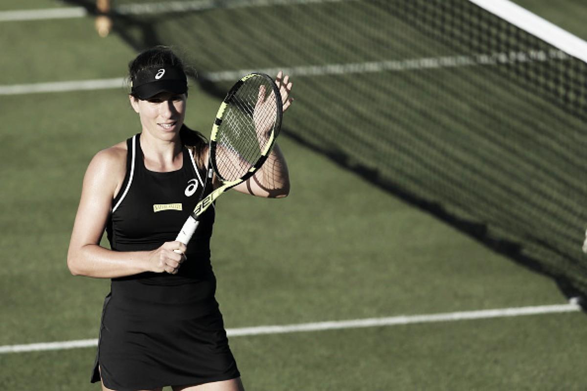 Avassaladora, Konta estreia com vitória sobre Nara no WTA de Nottingham