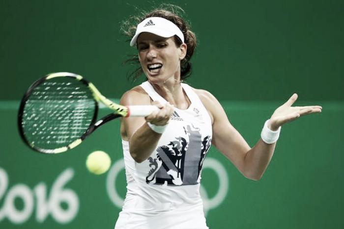 Johanna Konta bate Svetlana Kuznetsova e está nas quartas da Rio 2016