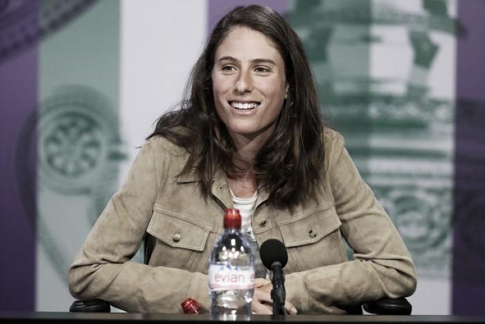 "Johanna Konta: ""I am definitely looking forward to play my first round"""