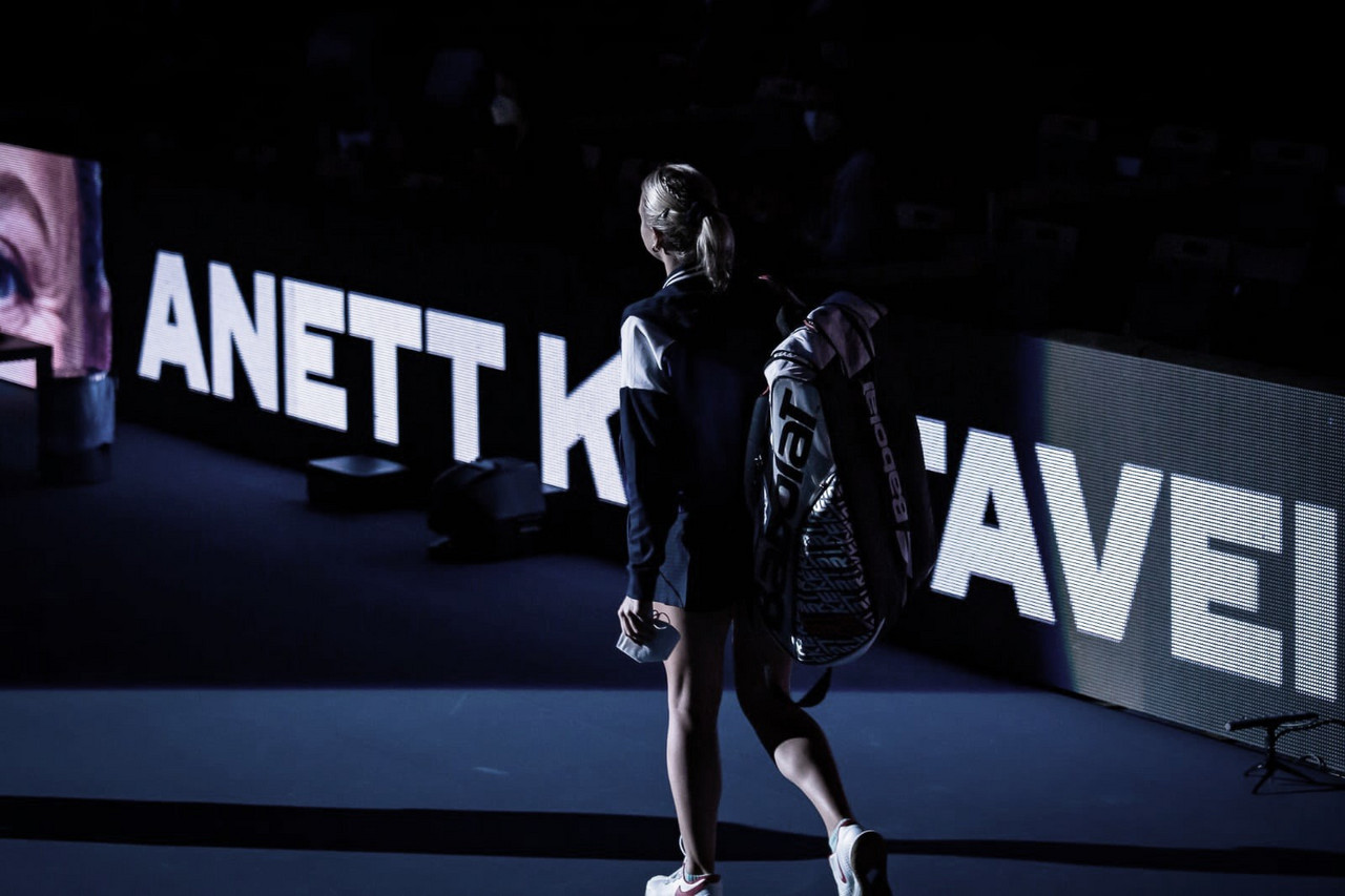 Kontaveit passa bem por Kvitova e segue à decisão do WTA 500 de Ostrava