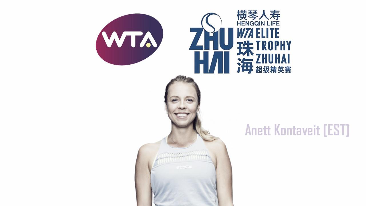 Anett Kontaveit qualifies for WTA Elite Trophy