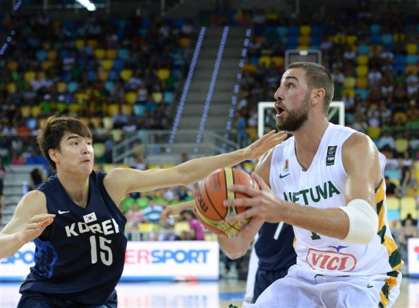 FIBA World Cup: Lithuania Demolishes Korea 79-49