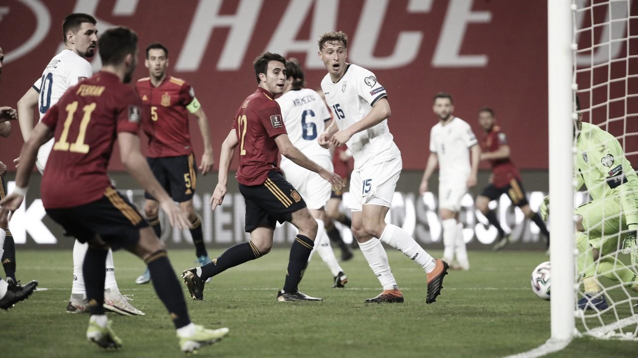 Gols e melhores momentos Kosovo x Espanha pelas Eliminatórias da Copa do Mundo (0-2)