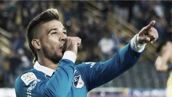 """Koufatti gritó """"Gol"""" en su debut con Millonarios"""