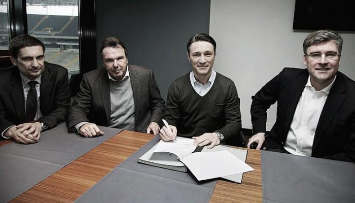 Eintracht announce Kovac as new manager