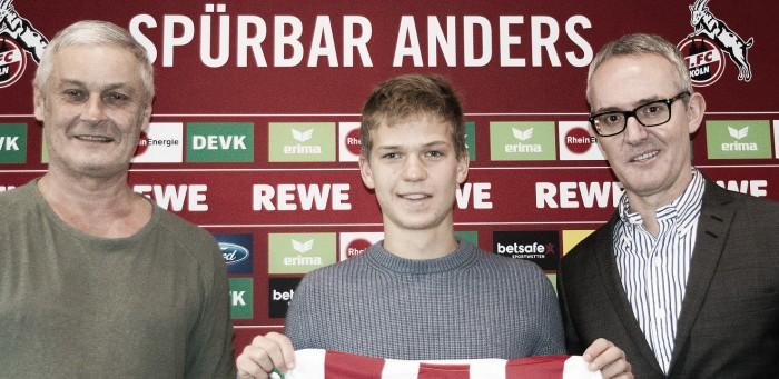 Para tentar evitar rebaixamento, Köln anuncia volante Vincent Koziello
