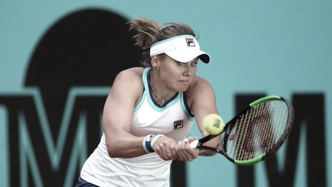 Kozlova surpreende Karolina Pliskova em três sets na segunda rodada em Madrid