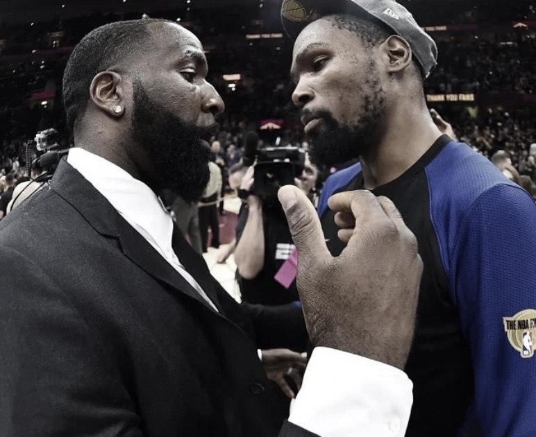 Perkins & Durant go at it on social media