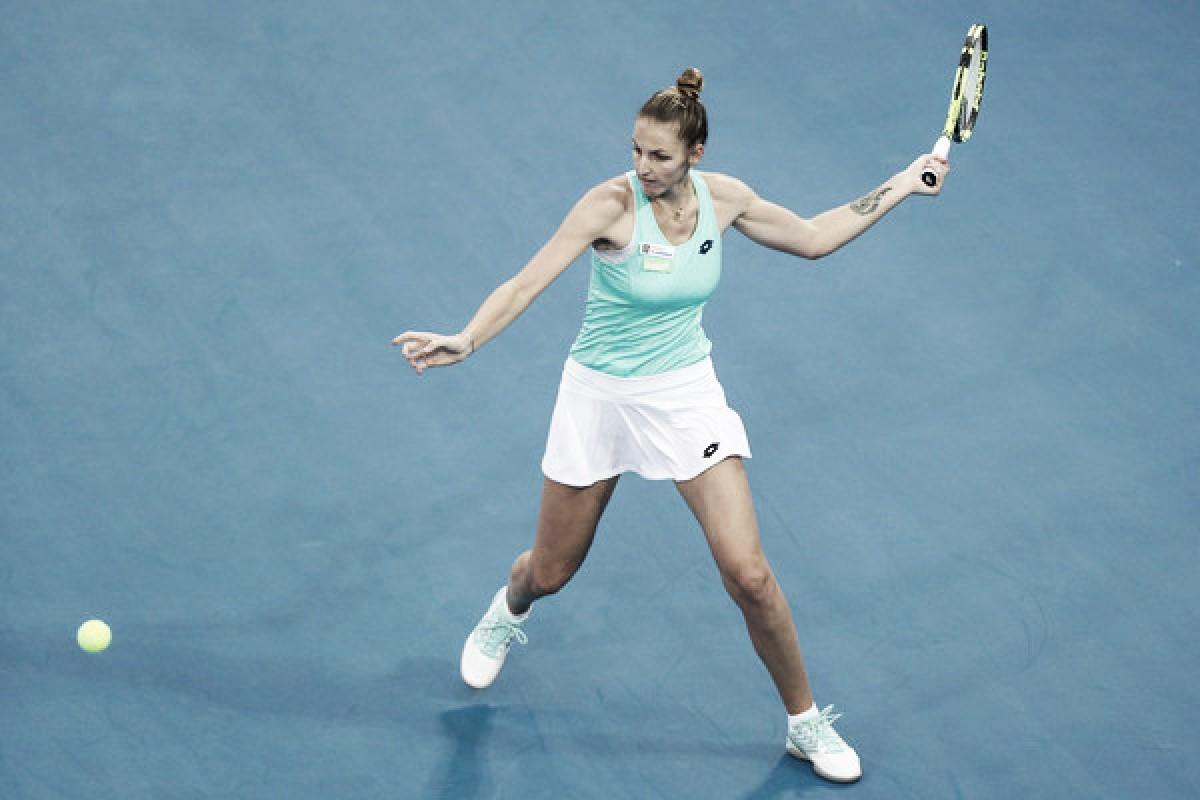Siete match points para vencer a Kvitova