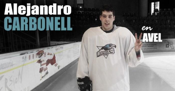 """Entrevista. Alejandro Carbonell: """"Disfruto jugando al hockey"""""""