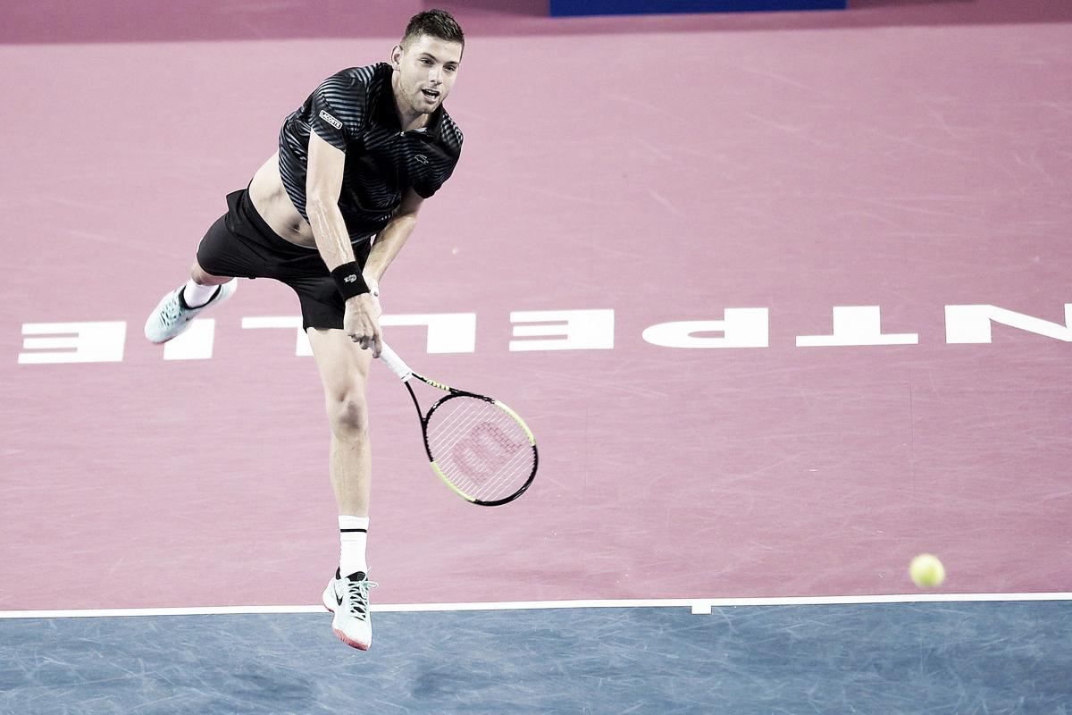 Krajinovic surpreende Goffin e avança em Montpellier