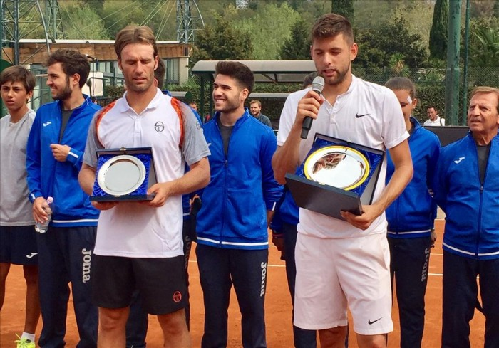 ATP Challenger Tour, Roma II - Krajinovic supera Gimeno-Traver