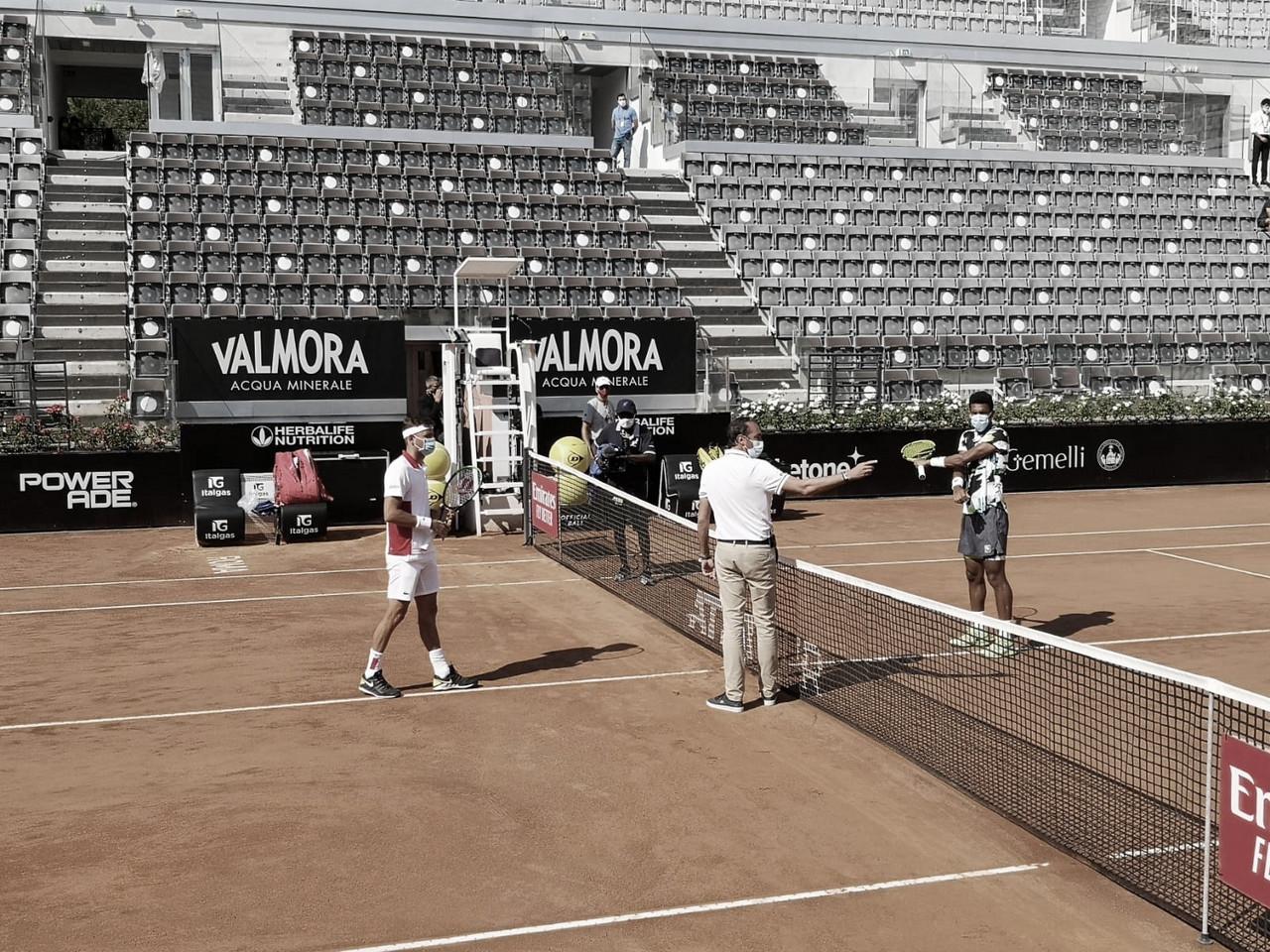 Krajinovic joga melhor, aproveita erros e vence Auger-Aliassime no Masters 1000 de Roma